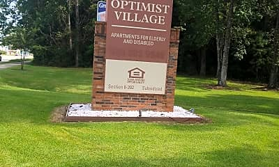 Optimist Village, 1