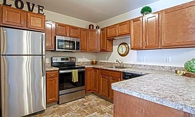 Kitchen, Southpark Square Senior Apartments, 0