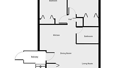 Bedroom, 1114 Bertrand St, 2