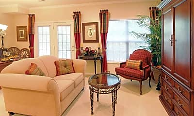 Living Room, The Enclave at Livingston Country Club, 1