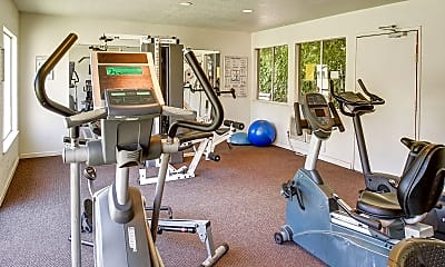 Fitness Weight Room, Cottage Bell Apartments, 1