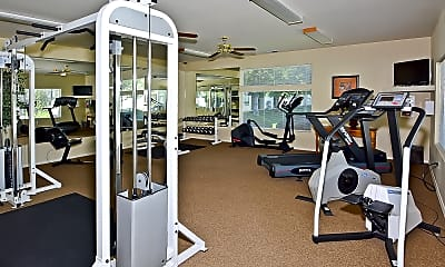 Fitness Weight Room, Aspen Hills Apartments, 2
