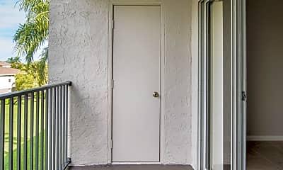 Patio / Deck, Gatehouse at Pine Lake Apartments, 2