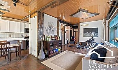 Living Room, 1805 Scoville Ave, 1