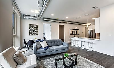 Living Room, 1317 W Loyola Ave 2B, 1