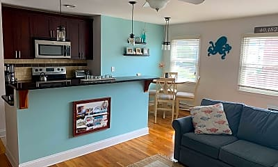 Living Room, 205 2nd Ave 1E, 1