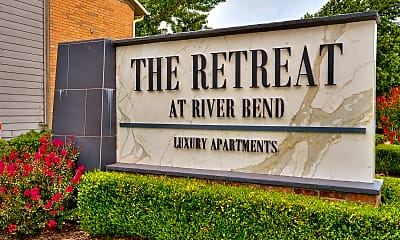 Community Signage, The Retreat at River Bend, 2
