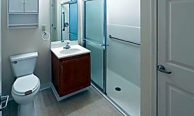 Bathroom, Crestmount Senior Apartments, 2