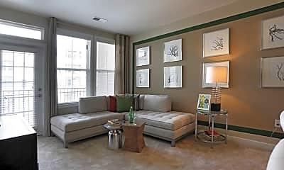 Living Room, Jefferson Square At Washington Hill, 1