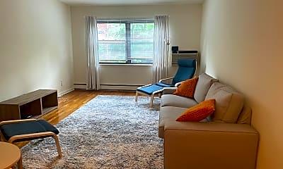 Living Room, 16 Roosevelt Pl 2A, 0