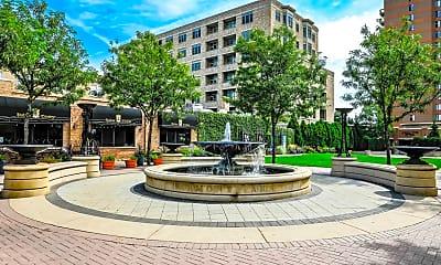 Landscaping, Hancock Square at Arlington Station, 2