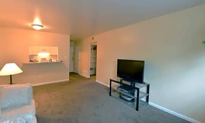 Living Room, The Commons At Victoria Village, 1