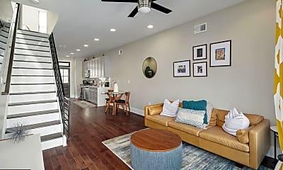 Living Room, 2621 Cedar St, 1