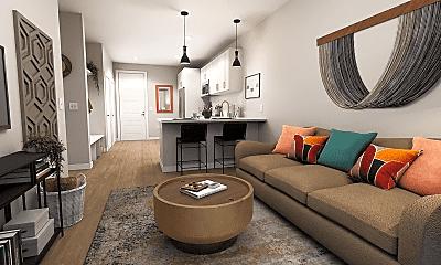Living Room, 4901 Louisiana Ave, 0