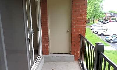 Patio / Deck, 3201 Georgetown Rd 5-03, 2
