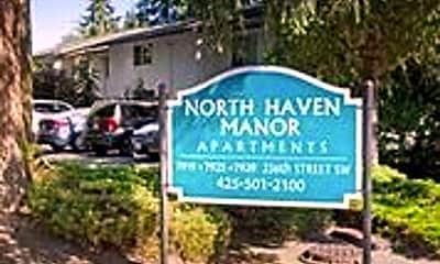 Community Signage, 7929 236th Street SW, 2