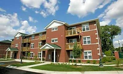 Building, Fox Place Apartments, 0