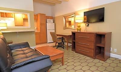 Living Room, Crown Efficiency Apartments, 0