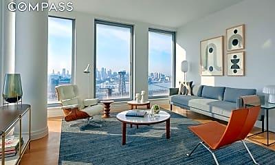 Living Room, 245 1/2 S 1st St PH-1C, 1
