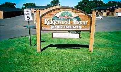 Community Signage, Ridgewood Manor Apartments, 0