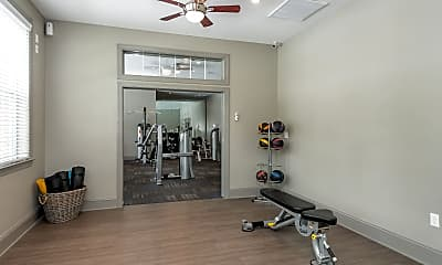 Fitness Weight Room, Commonwealth at York, 2
