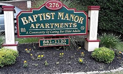 Baptist Manor, 1