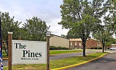 Community Signage, Pines Apartments, 2