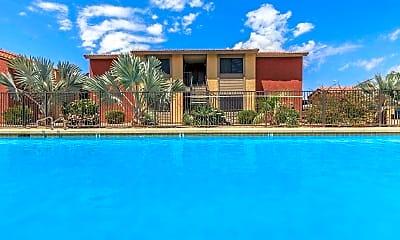 Pool, Cordova Apartments, 1