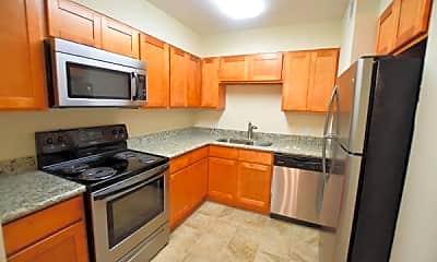 Kitchen, Castlegate Apartments, 1