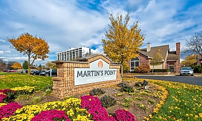 Community Signage, Martin's Point Apartment Homes, 0