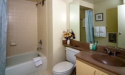 Bathroom, Riverfront Towers, 2