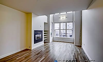Living Room, 1720 Clay St, 2, 1