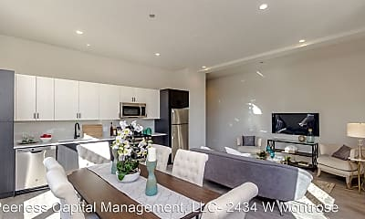 Living Room, 1502 W Ainslie St., 0