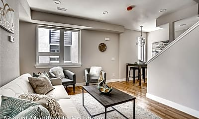 Living Room, New Townhome Ready For Rent!, 0