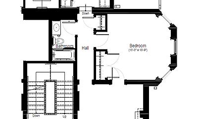 Bathroom, 462 W 6th St, 2