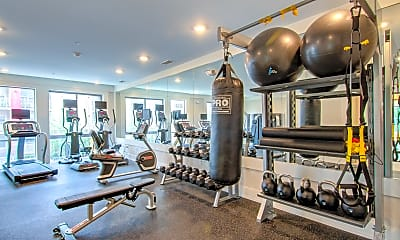 Fitness Weight Room, Bedford Hall, 2