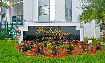 Community Signage, Park Plaza Apartments, 2
