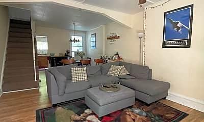 Living Room, 1825 Carlton St, 0