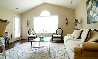 Living Room, Shelby Woods North, 1
