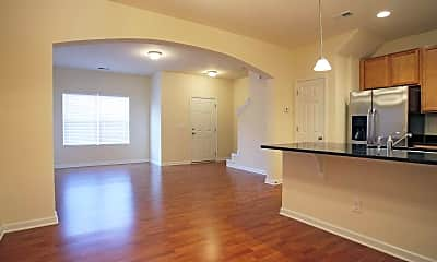 Dining Room, Pennington Place Townhomes, 2