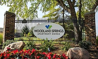 Community Signage, Woodland Springs Manor, 0
