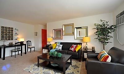 Living Room, Gramercy Park Apartments, 1