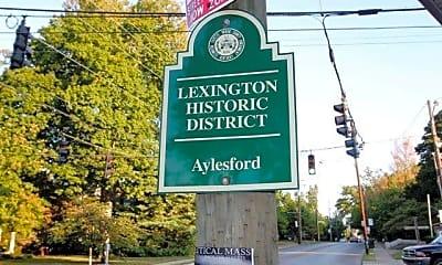 Community Signage, 701 E High St 203, 1