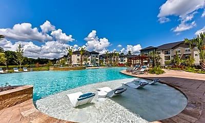Pool, The Pointe At Valley Ranch Town Center, 1