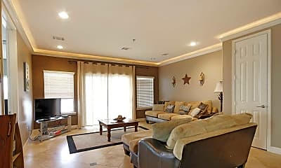 Living Room, Southern Empress Lakeside Condominiums, 1