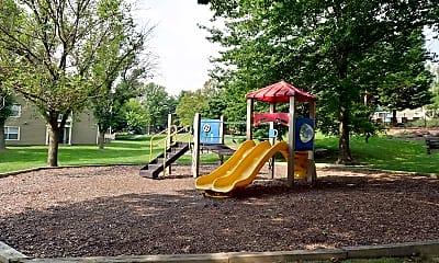 Playground, Alister Town Center Columbia, 2