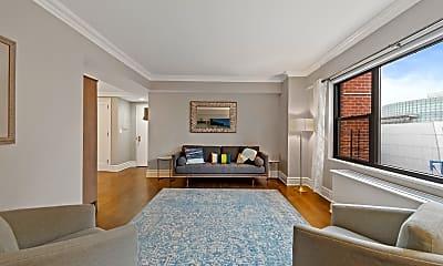 Living Room, 201 E 25th St, 1