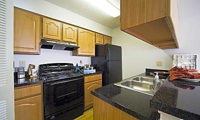 Kitchen, Newport Apartments, 1
