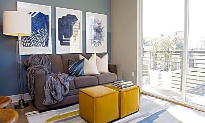 Living Room, 806 Jackson Hill, 2
