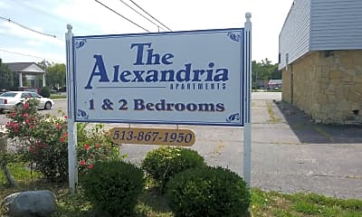 Alexandria Apartments, 1